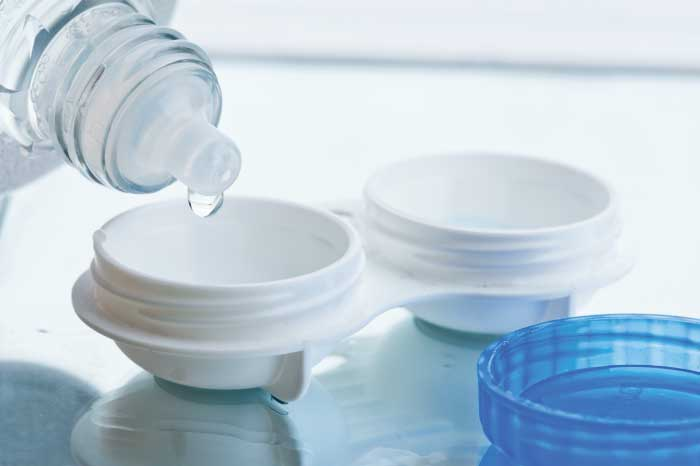 Contact Lens Cleaning